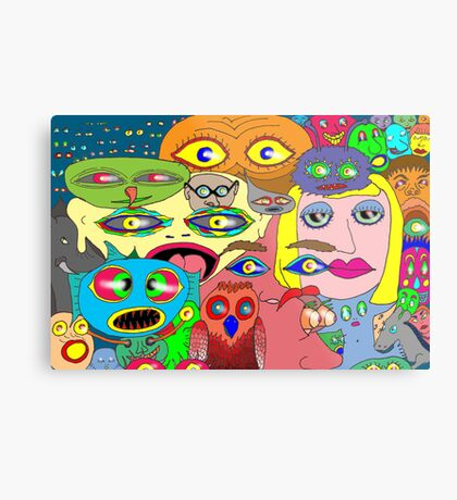 I think the eyes have it! Metal Print