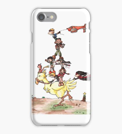 Chocobo Riding iPhone Case/Skin