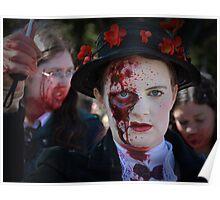 Children Beware - Mary Zombie Poppins Poster
