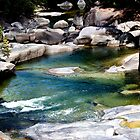 Down the river - Babinda Boulders by Jenny Dean