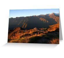 Inca Trail - Campsite 3rd Night Greeting Card