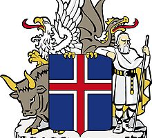 Iceland Coat of Arms  by abbeyz71