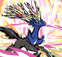 Xerneas | Geomancy by ishmam