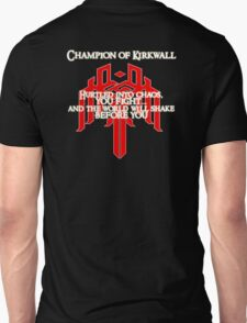 Champion of Kirkwall v.2 Unisex T-Shirt