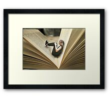 Report An Issue Framed Print