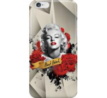 Bad Bitch (Marilyn Monroe) iPhone Case/Skin