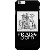 Praise Odin iPhone Case/Skin