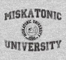 Miskatonic University (Black version) by cisnenegro