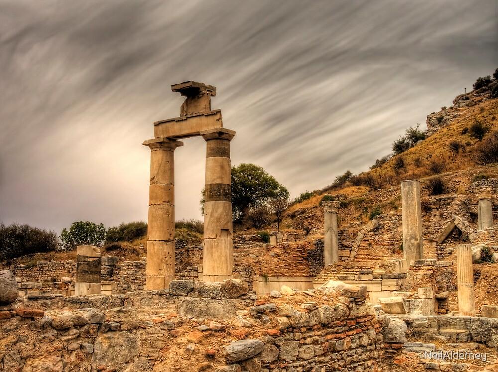 Ruins in ephesus, Turkey by NeilAlderney