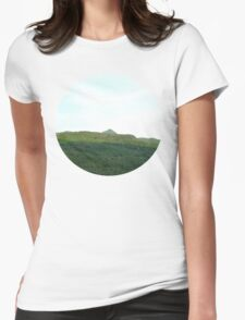 road way, scotland Womens Fitted T-Shirt