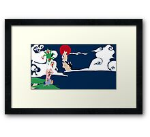 Operation: Tingle get balloon back! Framed Print