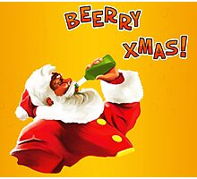 Beerry Xmas! Photographic Print