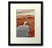 Autumn or Fall Framed Print