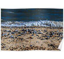 Great Yarmouth beach, UK Poster