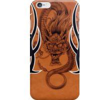 Tribal Dragon Copper iPhone Case iPhone Case/Skin
