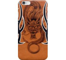 Tribal Dragon Copper iPhone Case iPhone Case/Skin