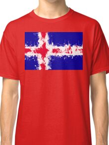 in to the sky, iceland Classic T-Shirt