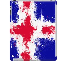 in to the sky, iceland iPad Case/Skin