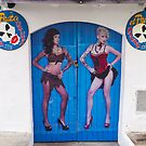 Ibiza town bar door. by naranzaria