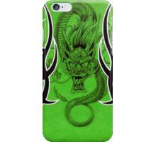 Tribal Dragon Green iPhone Case/Skin
