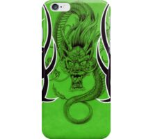 Tribal Dragon Green iPhone Case/Skin