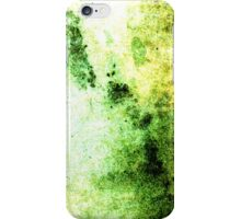 iPhone Case Vivid Green Abstract Grunge Beautiful Texture iPhone Case/Skin