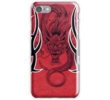 Tribal Dragon Red iPhone Case/Skin