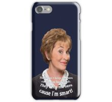 Keep the Smart Ones iPhone Case/Skin