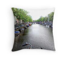 On ya Bike Throw Pillow