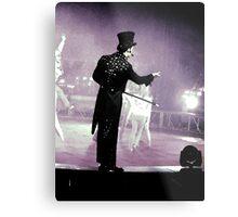 Circus Ring Master Metal Print