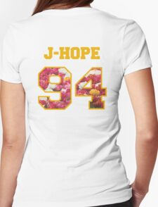 BTS- J-HOPE 94 Line Flower Design T-Shirt