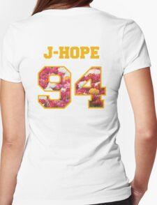 BTS- J-HOPE 94 Line Flower Design T-Shirt