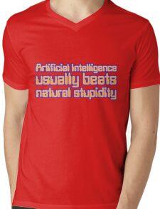 Artificial Intelligence Mens V-Neck T-Shirt
