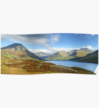 Wastwater And The Scafells Poster
