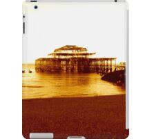 brighton west pier (07) iPad Case/Skin