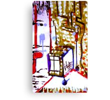 window box Canvas Print