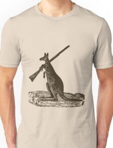Kangaroo Shotgun Unisex T-Shirt