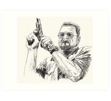 Angry Walter Art Print
