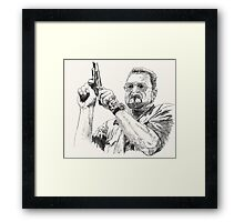 Angry Walter Framed Print