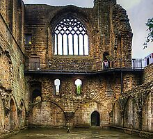 Dunfermline Abbey Refectory Window by Tom Gomez