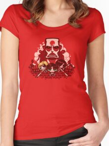Attack on Townsville Women's Fitted Scoop T-Shirt