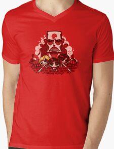 Attack on Townsville Mens V-Neck T-Shirt