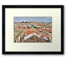 Lisbon from the roof Framed Print