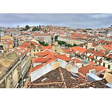 Lisbon from the roof Photographic Print