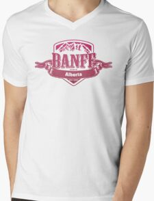 Banff Alberta Ski Resort Mens V-Neck T-Shirt