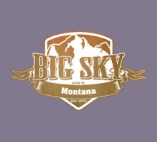 Big Sky Montana Ski Resort T-Shirt