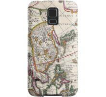 Vintage Antique Map of Asia Circa 1632 Samsung Galaxy Case/Skin