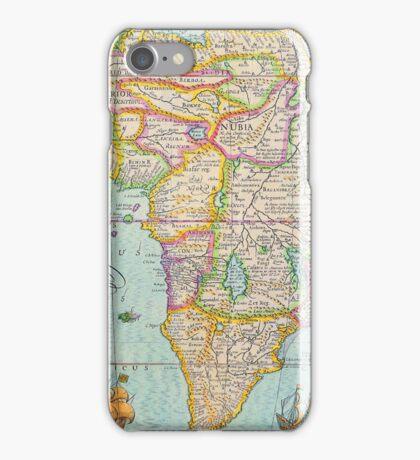 Vintage Antique Map of Africa iPhone Case/Skin