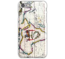 Vintage Antique Map of Africa Circa 1687 iPhone Case/Skin