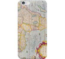 Vintage Antique Map of Africa Circa 1610 iPhone Case/Skin